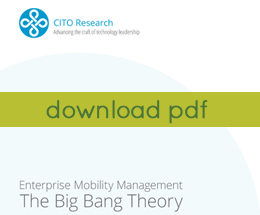 Enterprise Mobility Management - The Big Bang Theory