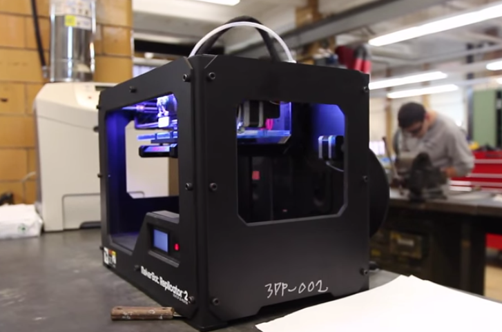 MakerBot 3D Printing Technology in the Classroom