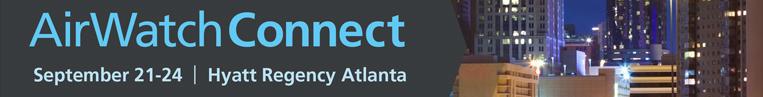 AirWatch Connect 2015