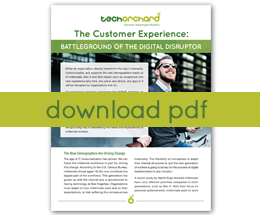The Customer Experience: Battleground of the Digital Disruptor